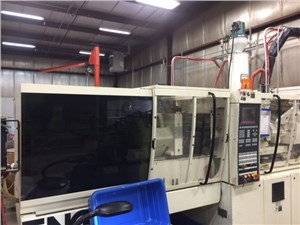 55 Ton Engel Electric Injection Molding Machine, Model EM200/55HL, 2.8 Oz, Made New In 2001