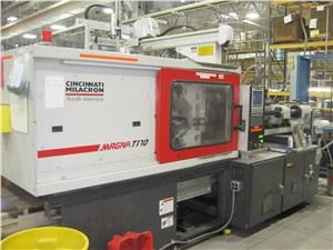 170 Ton Cincinnati Milacron Injection Molding Machine, Model MT170, 12 Oz, 2004