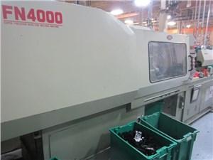 179 Ton Nissei Injection Molding Machine, Model FN4000, 11.20 Oz, 1997 Vintage