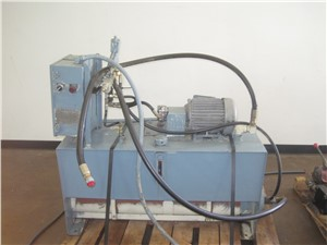 Beringer Hydraulic Power Pack with Accumulator