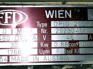 Weima Single Shaft Shredder, Model WLH600S/30 , 40 hp