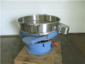 """48"""" Sweco Vibratory Classifier with 1/4"""" Screen"""