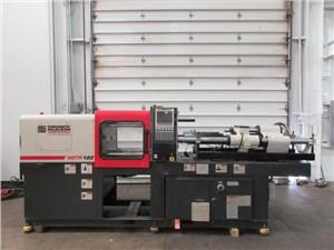 85 Ton Cincinnati Milacron Vista Injection Molding Machine, Model VV85, 9.59 OZ, New In 2000