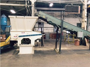 Vecoplan Shredding/Granulating Line