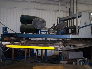 """48"""" x 72"""" AAA 3 Station Rotary thermoformer, Model R3-4872A"""