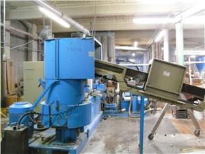 Used 120 MM Erema Pelletizing Line, Model RM120/35