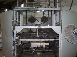 """48"""" x 72"""" Brown Rotary thermoformer, Model 223"""