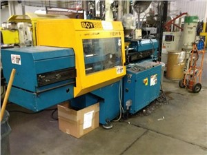55 Ton Boy Injection Molding Machine, Model 50T2, 2.2 OZ, New In 1997