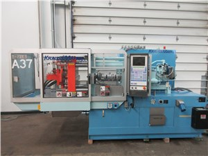 Used 72 Ton Krauss Maffei Injection Molding Machine, Model KM 65-160-C2, Manufactured 1998