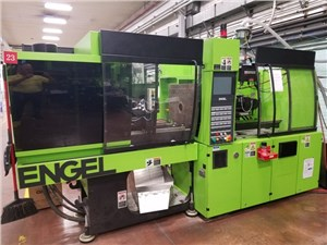 65 Ton Engel Victory Tiebarless Injection Molding Machine, Model VC80/65Tech, 1.6 Oz, New In 2007