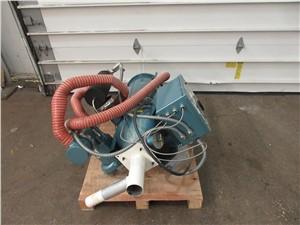 25 CFM UnaDyn Hot Air Dryer, Model RHB-25, With 60 lbs Hopper