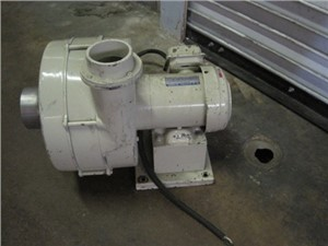 """1/2 hp Blower 4"""" inlet with 3"""" outlet"""