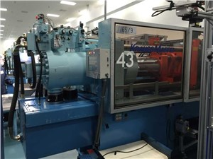 Used 165 Ton Krauss Maffei Injection Molding Machine, Model 150-460-B2, Manufactured 1996
