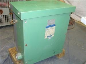 7.5 KVA 3 Phase Reliance Transformer