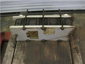 """9"""" x 24"""" Plate and Frame Heat Exchanger"""