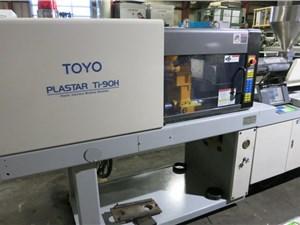 90 Ton Toyo Injection Molding Machine, Model Ti-90H, Manufactured 1999