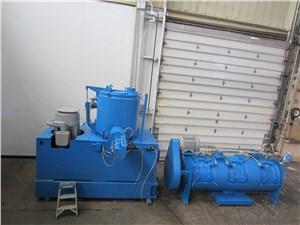 600 Liter Littleford High Intensity Mixer/Cooler Combo with 1200 Liter Cooler, 125hp