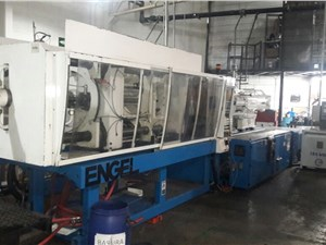 300 Ton Engel Injection Molding Machine, Model 2750/300, 23.8 Oz, New In 2004