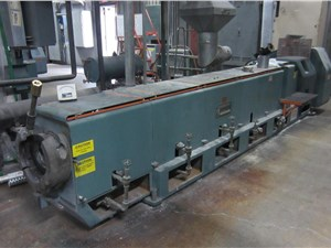 "6"" Gloucester Low Boy Extruder, Model 260-001, Water Cooled, 24:1 L/D"