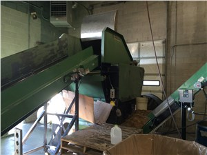2005 Rapid Shredding/Grinding Line, Manufactured 2005