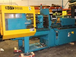 80 Ton Boy Injection Molding Machine, Model 80M, 4.65 OZ, New In 1999