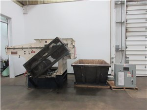 "52"" Retech / Vecoplan Single Shaft Shredder, Model RG52, 100 Hp"
