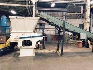 Vecoplan Shredding/Granulating Line