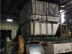 Vecoplan Model RTR70/200T Single Shaft Shredder, 275 HP