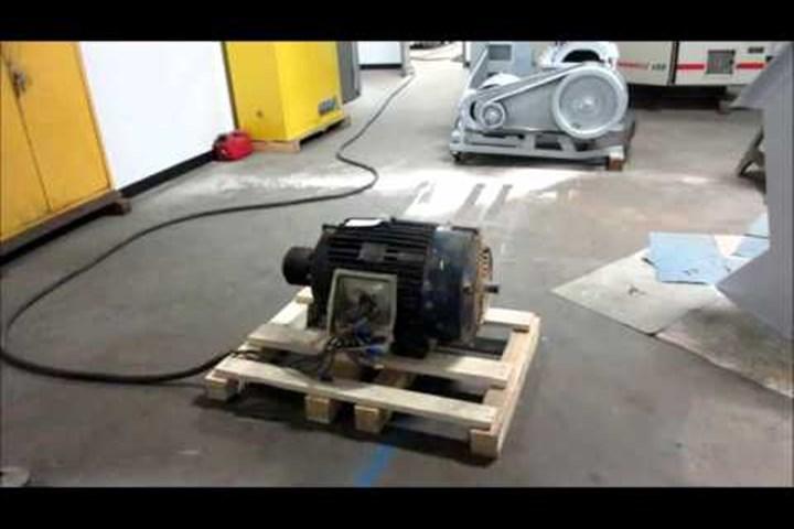 40 HP Marathon Blue Max AC Vector Duty Motor, 230/460, Frame 324 TZ