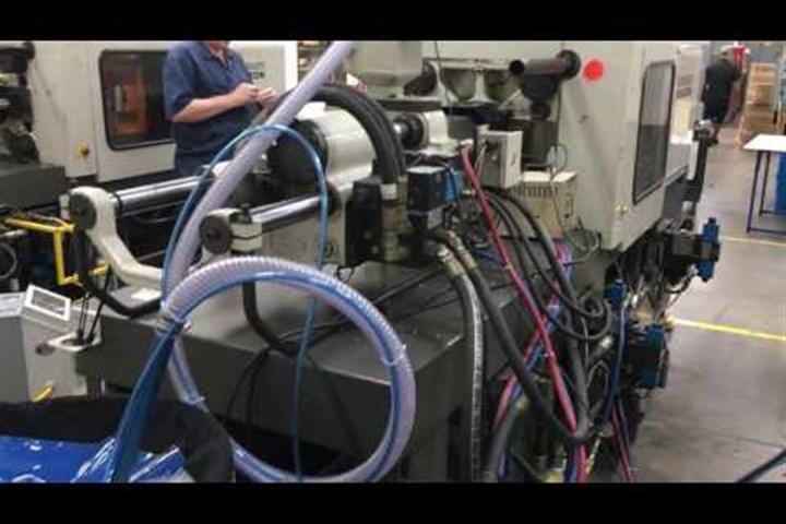 85 Ton Cincinnati Injection Molding Machine, Model VSX-85, New in 1997