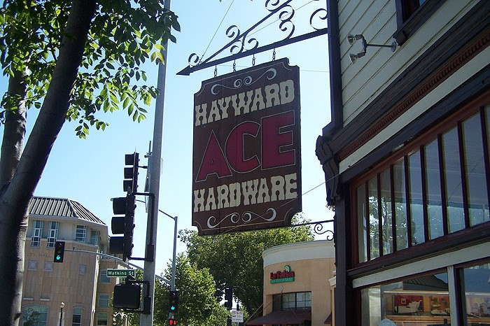 ace hardware retail sign