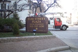 Habitat Company Upgrades Elm Street Plaza Residential Signage