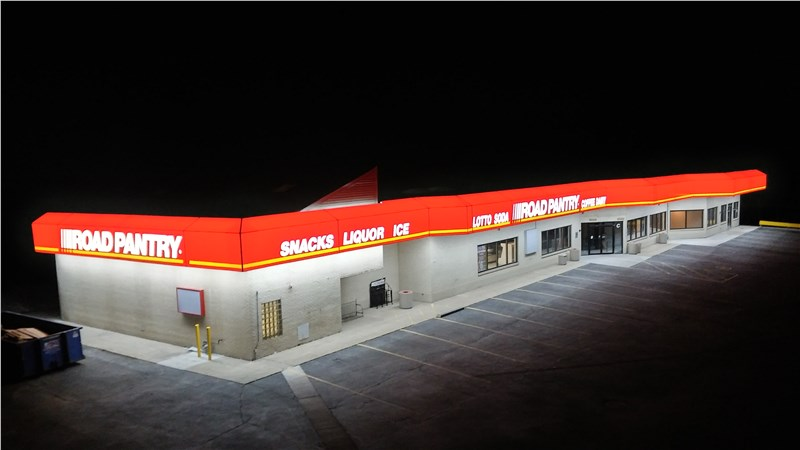 Road Pantry's LED Backlit Awning - Maintenance-Free Illumination