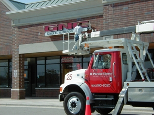 Sign Maintenance Services