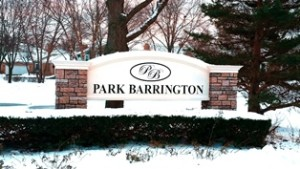 Park Barrington Homeowners Association Happy with Their New Signs
