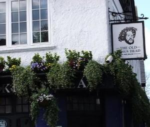 English Tavern Sign