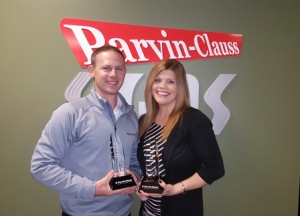 Parvin-Clauss Sales Managers Achieve Sales Excellence in 2015