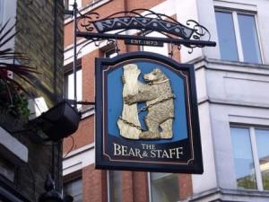 Bear Tavern Sign