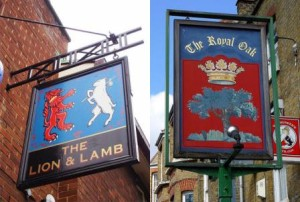 Which Way To The Pub? A Brief History Of British Tavern Signs.