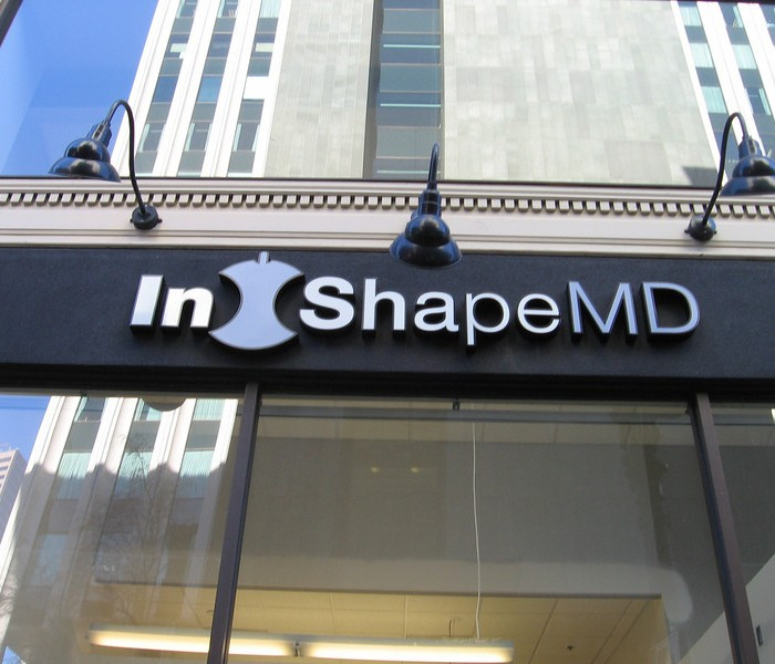 In Shape MD Sign