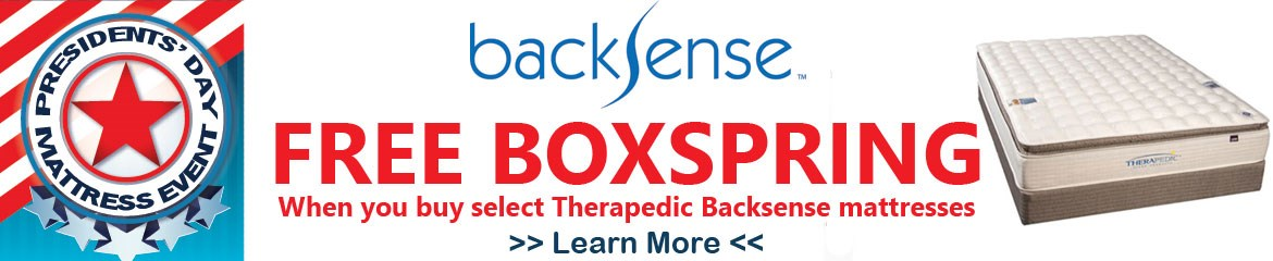 Therapedic BackSense Event
