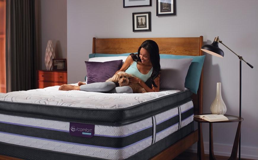 serta icomfort hybrid mattresses - the mattress factory