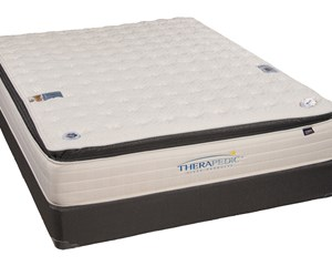 therapedic backsense liberty plush pillow top - Therapeutic Mattress