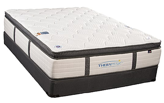 Therapedic BackSense Society Hill Plush Pillow Top