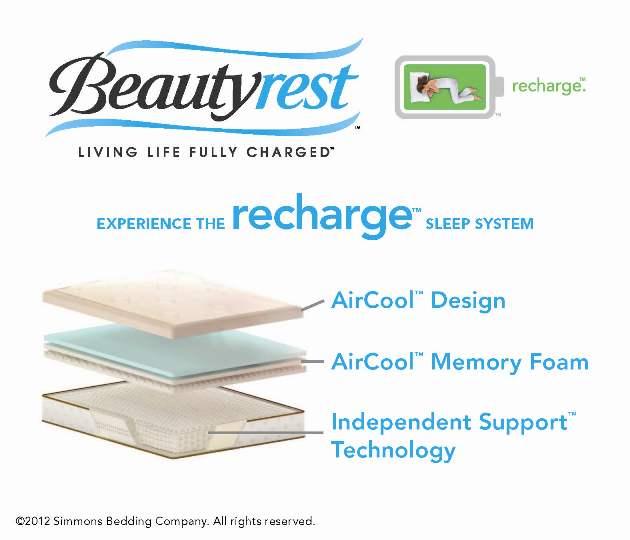 x beautyrest truenergy bryanna plush - Beautyrest Recharge Hybrid