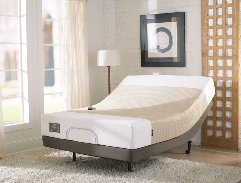 Sealy Posturepedic Adjustable Bed Reviews : Embody by sealy introspection memory foam adjustable bed