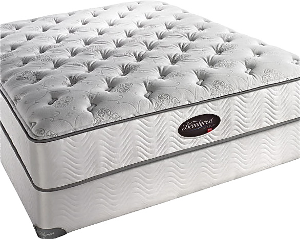 simmons beautyrest ultra plush with memory foam