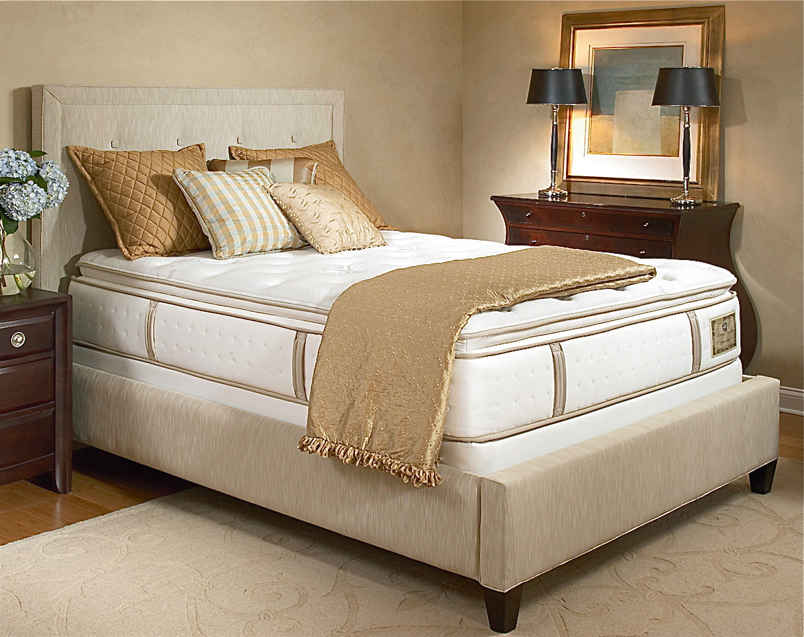 Stearns & Foster Blisswood Luxury Firm Euro Pillow Top
