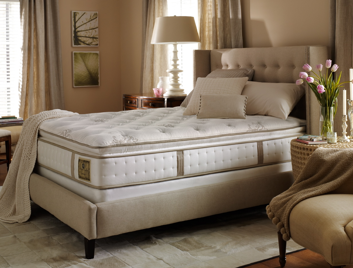 Stearns & Foster Duval Street Luxury Firm Euro Pillow Top