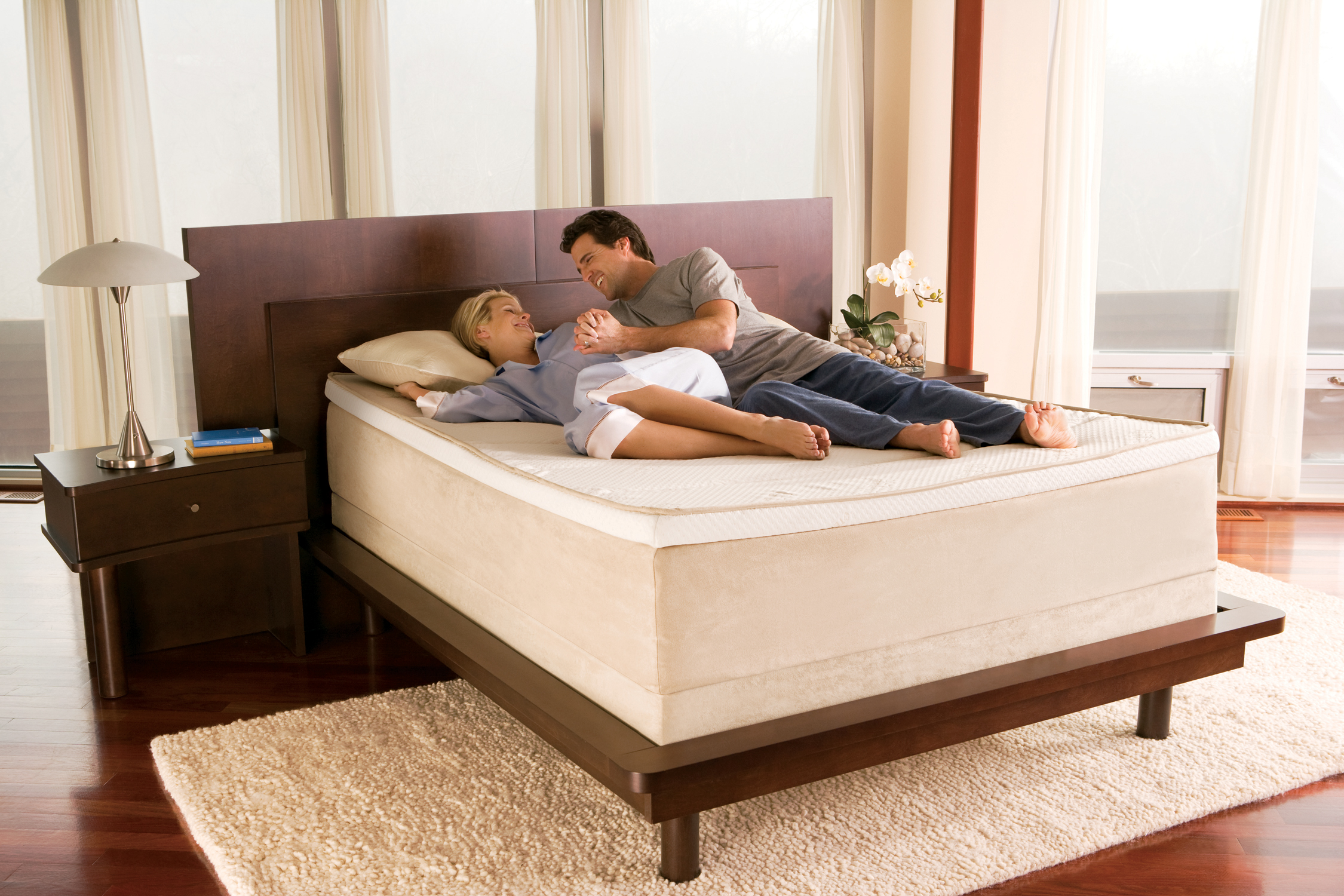 the allurabed by tempur pedic